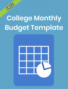 Free College Monthly Budget Template Phone