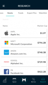 Mobile Research Stocks Phone